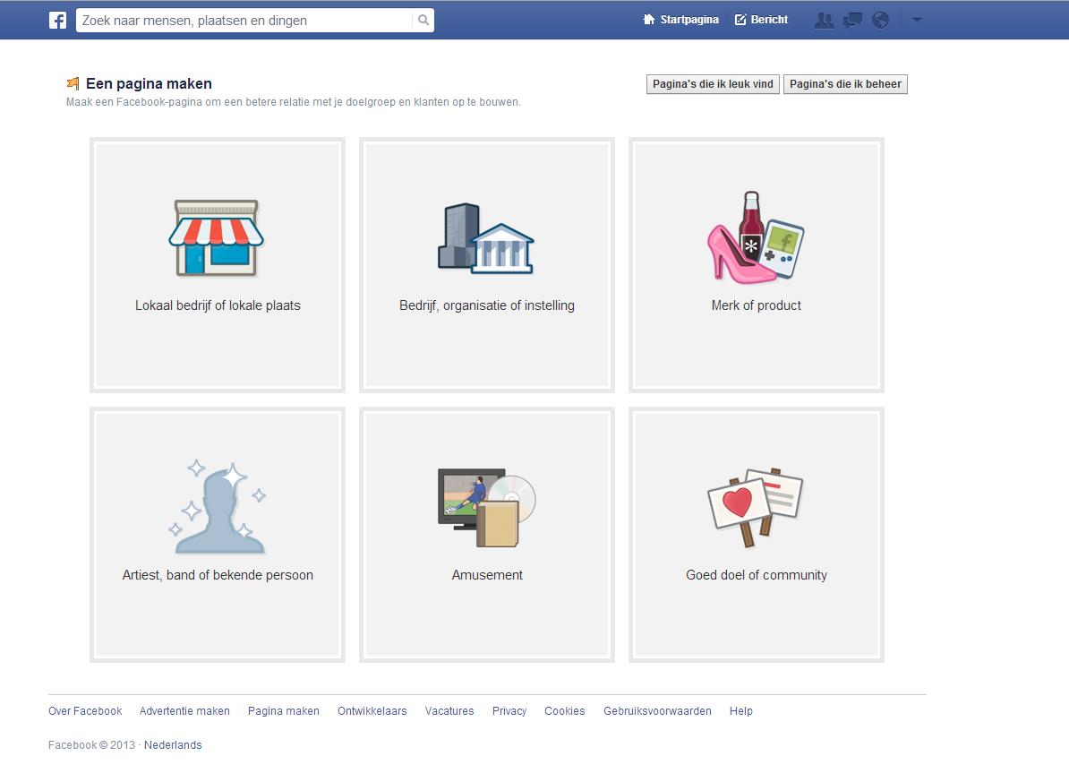 Hoe je een Facebook bedrijfspagina maakt