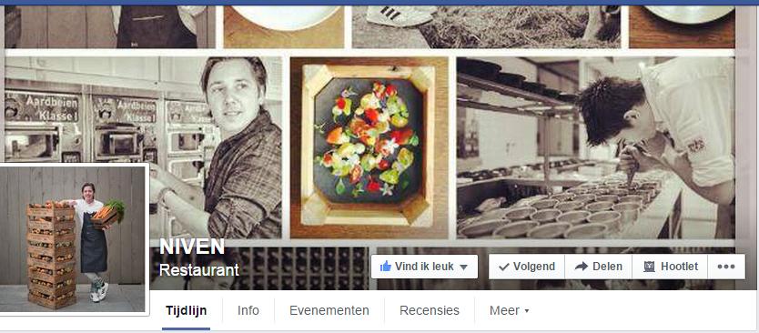 Voorbeeld online merk Facebook