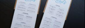De samenstelling van het menu