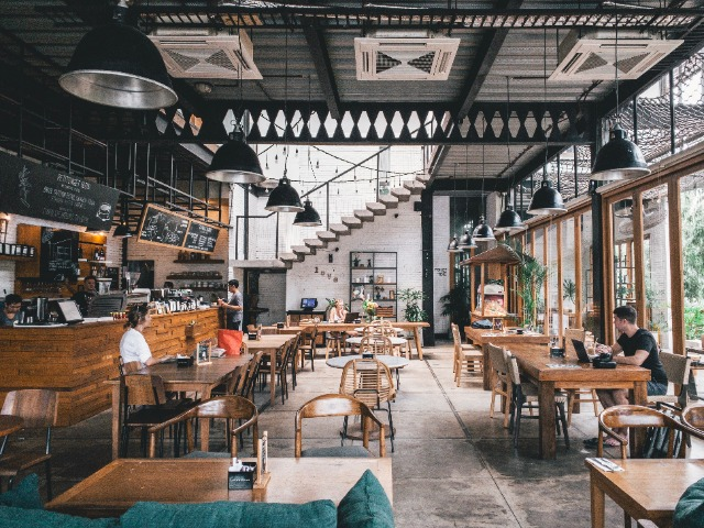 Restaurant meubilair selecteren