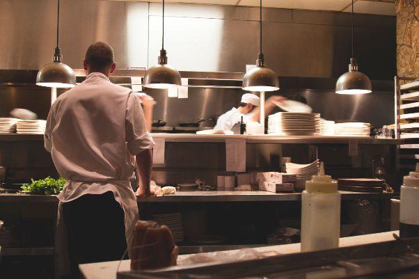 Bouw van een restaurantkeuken